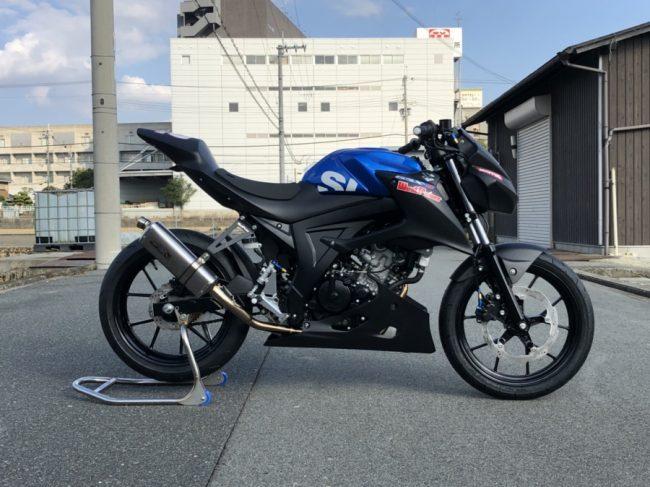 GSX-S125 レースコンプリート仕様 予約受付中